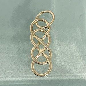 Jewelry - 14k double infinity charm pendant